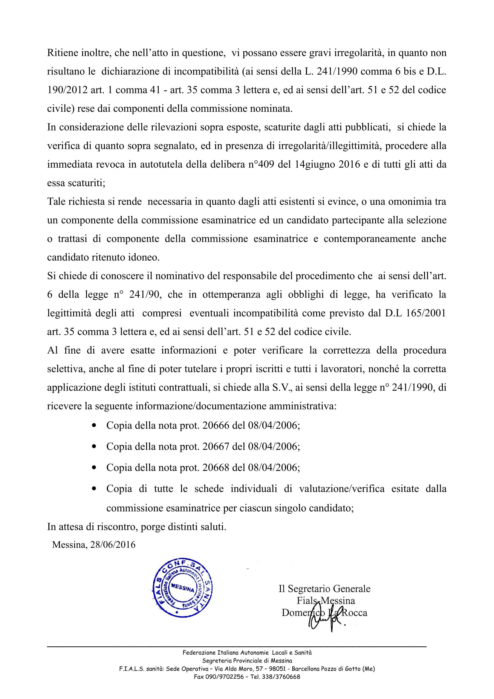 prot-208-del-28-giugno-2016-richiesta-di-revoca-delibera-n409-del-14-giugno-2016-1